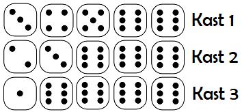 yatzy spelregler exempel